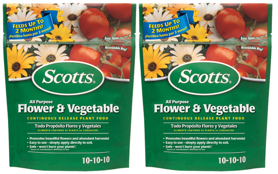 Scotts All Purpose Flower and Vegetable Continuous Release Plant Food